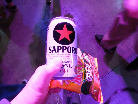 Adobe MAX Japan 2017 でビール