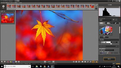 オリンパスのRAW現像ソフト、Viewer