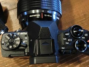E-M5 Mark2 の 3つのダイヤル