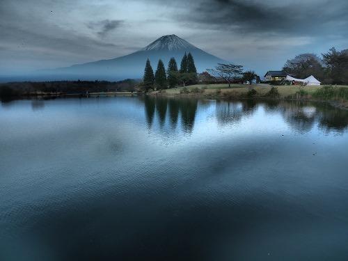 ドラマチックトーンの富士山