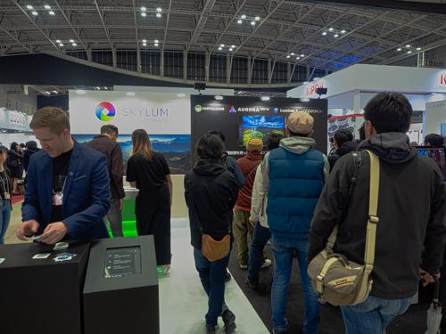 Luminar3の展示ブース